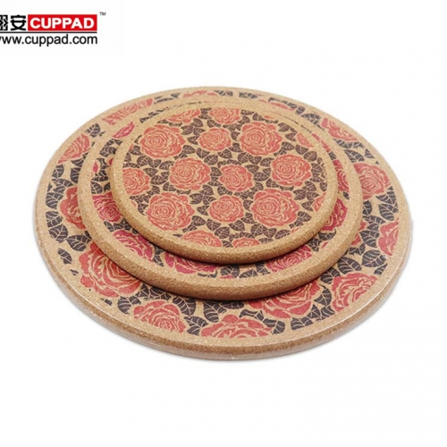 Cork Round Placemats For Promotion