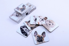 Custom Animals Dog Photo Drink MDF Coasters For Bar