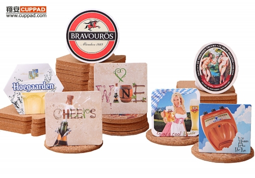 Beer Coasters Wine Glass Cup