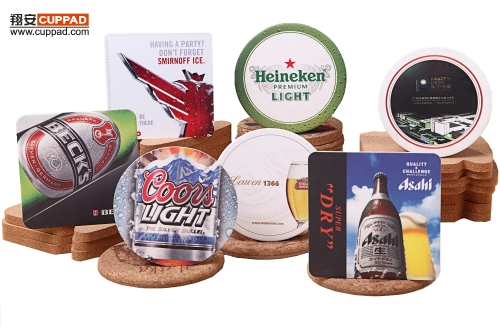 Beer Coasters Personalized Pattern