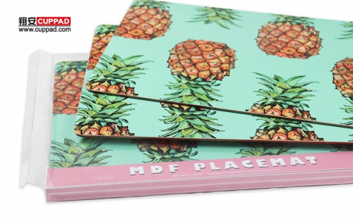 MDF Placemat PPersonalize With PET Package Box