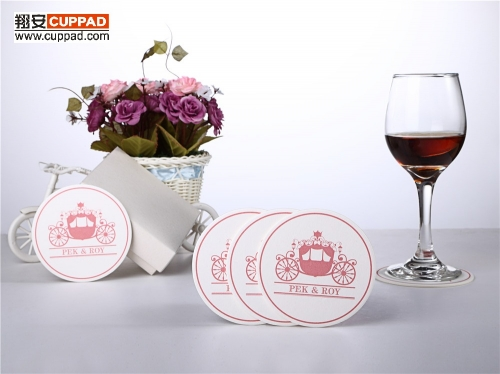 Hotel Restaurant Drink Paper Coasters One Time Used
