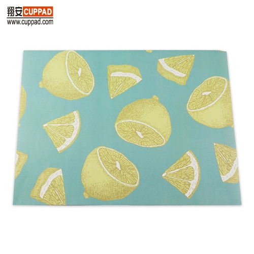 Lemon Fruits Styles Paper Placemats Table
