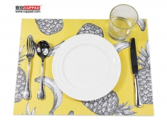Star Pattern Paper Placemats Table